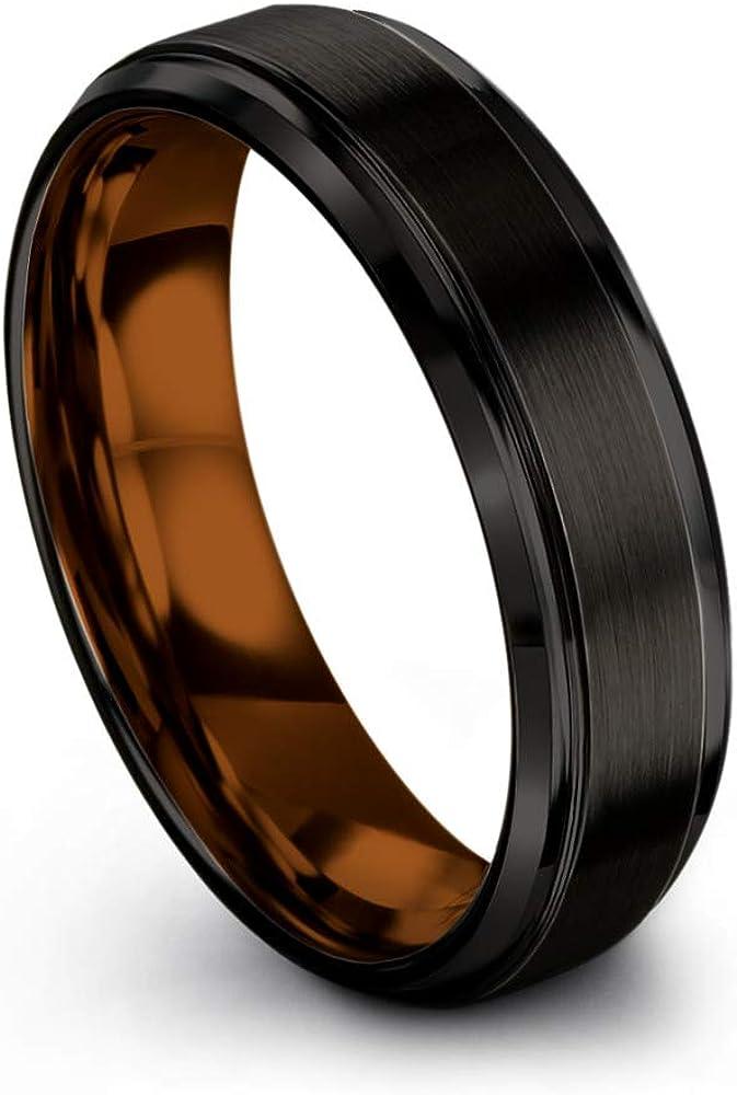Chroma Color Collection Tungsten Carbide f Wedding Kansas City Mall 6mm San Francisco Mall Ring Band