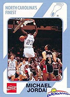 aa8aa6ccf88 Michael Jordan 1989 North Carolina Tar Heels Collegiate Collection #15  College ROOKIE Card in Mint