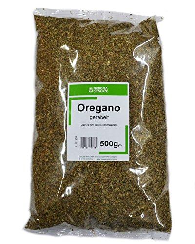 NEBONA Oregano gerebelt 500g, 3er Pack (3 x 500g)