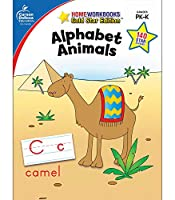 Alphabet Animals: Grades PK-K, Gold Star Edition (Home Workbooks)