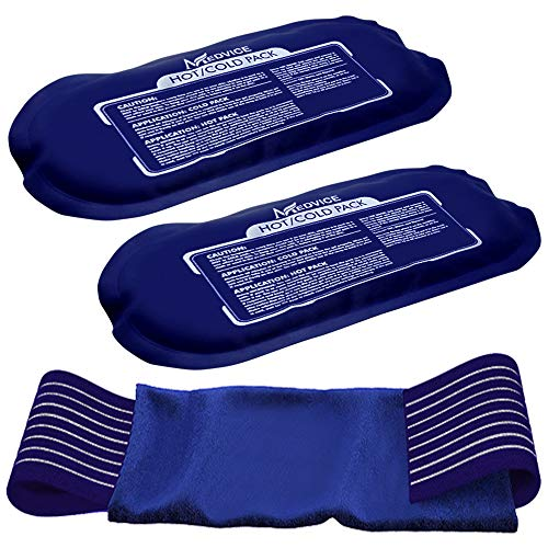 Medvice 2 Reusable Hot and Cold Ice Packs