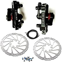 BlueSunshine MTB BB8 Mechanical Disc Brake Front and Rear 160mm whit Bolts and Cable