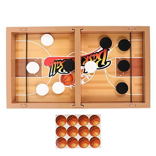 BESPORTBLE 1 Set Tischkampfspiel Schnelles Sling Puck Spiel Spielzeug Desktop Winter Eishockeyspiel Desktop Sportspiel Spielzeug