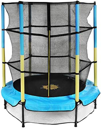 Trampoline for Kids with Enclosure Net Doufit TR 05 55 Mini Children Jumping Trampoline for product image
