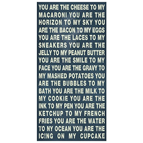 Hualiang You are The Cheese to My Macaroni Sign-My Cheese Sign for Gift with Wonderful Design
