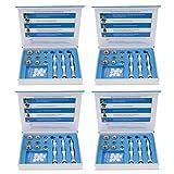 joyMerit 4 Set Diamond Microdermabrasion Dermabrasion Kits Tips+Wands Beauty Care