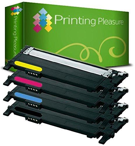 4 Toner kompatibel für Samsung CLP-310 CLP-310N CLP-315N CLP-315W CLX-3170FN CLX-3170FW CLX-3170N CLX-3175FN CLX-3175FW CLX-3175N - Schwarz/Cyan/Magenta/Gelb, hohe Kapazität