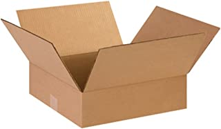 Aviditi 14144 Flat Corrugated Box, 14