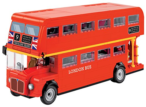 Cobi 1885 speelgoed London Bus, rood