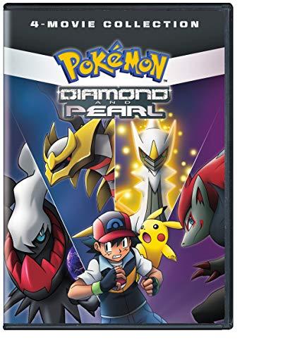 'Pokémon Diamond & Pearl Movie Collection Standard (DVD)
