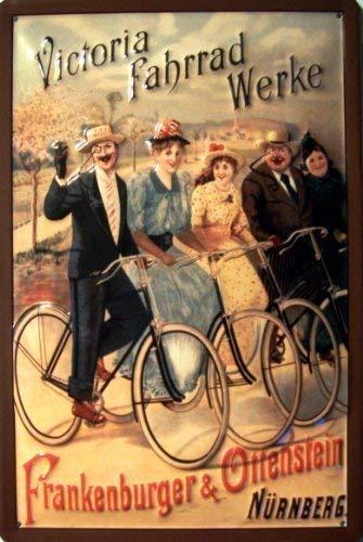 Victoria fiets Werke Nürnberg metalen bord 20 x 30 cm