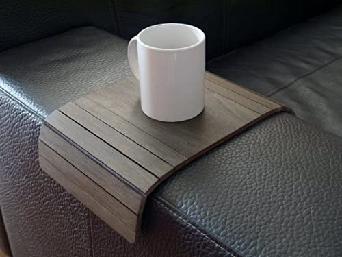 Best Wooden sofa armrest table in many colors as wenge Small flexible over the couch side tables Narrow f