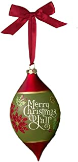 Grasslands Road Holiday Traditions Merry Christmas Y'all Ornament, 7 Inches x 3-1/2 Inches