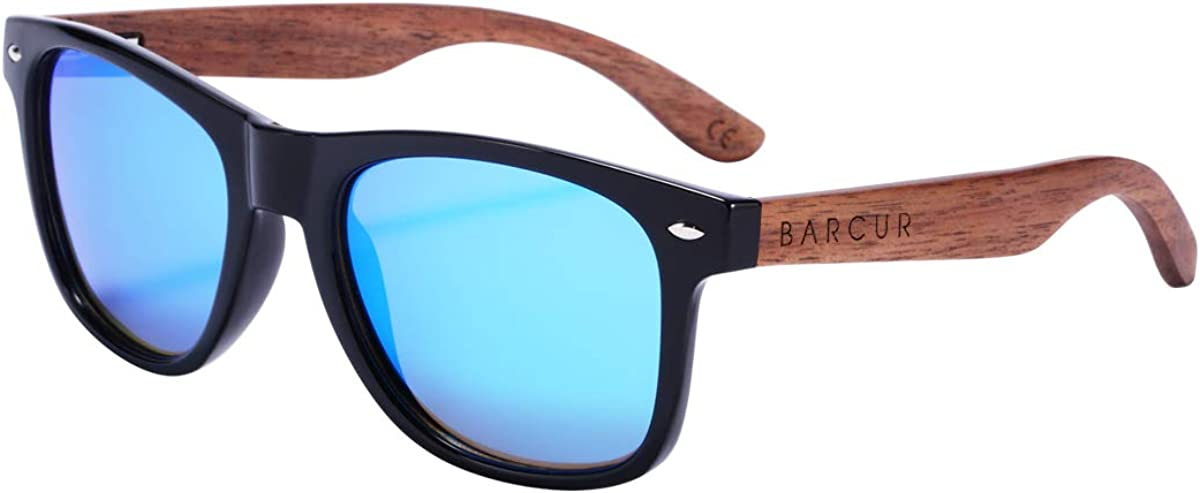 Branded goods Tampa Mall BARCUR Polarized Sunglasses for Men Wood W with Women