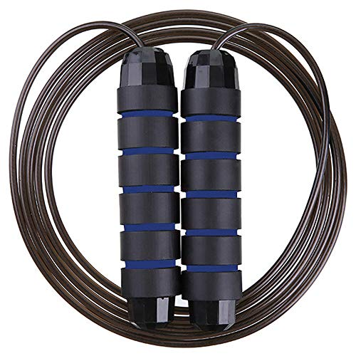 JIEBAO Jump Ropes For Fitness, Adjustable Skipping Ropes For Exercise, Lose Weight, Burn Calories,...