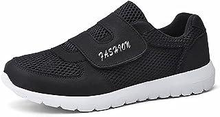 ERLINGO Chaussures de marche décontractées et confortables - Antidérapantes - Pour personnes âgées - Légères - Sangle conf...