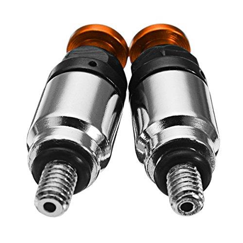 Alamor M4 x 0.7 mm Motorrad Schrauben Gabel Luft Entlüftungsventil Supermoto Motard Racing - Orange