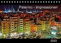 Palermo - Impressionen (Tischkalender 2022 DIN A5 quer): Impressionen Palermos, der brodelnden Hauptstadt der Autonomen Region Siziliens. (Monatskalender, 14 Seiten )
