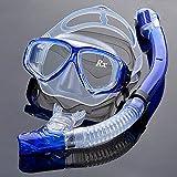 EnzoDate optische Tauchen Gear Kit Myopie Schnorchel Set, unterschiedlichen Stärke für jedes Auge...