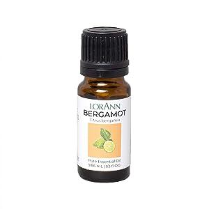 LorAnn Bergamot Oil (100% Pure Food Grade), 1/3 ounce Dropper Bottle