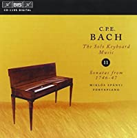 V 11: Keyboard Music by C.P.E. BACH (2004-07-27)