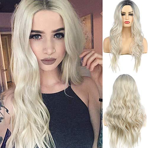 conseguir pelucas mujer rubio platino on-line