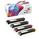 AZ Compatible Toner Cartridge Replacement for Sharp MX-36NT use in MX-2610N MX-2615N MX-3110N MX-3115N MX-3610N (Black, Cyan, Magenta, Yellow, 4-Pack)