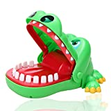 Yezelend Aktions- und Geschicklichkeitsspiel Krokodil Doc Kinderspiel, grün