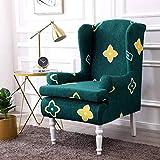 Fundas para sillón Fundas elásticas para sillas de Orejas, Fundas para sillas de Orejas con Estampado de Moda, Fundas Antideslizantes para sillas de Orejas de Juego rápido para Sala de Estar