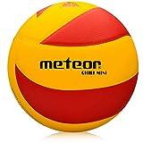 meteor Balón de Voleibol Tamaño Volleyball Interior Exterior (5, Chili Y&R)