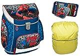 Spiderman SCOOLI Schulranzen für Grundschule Jung