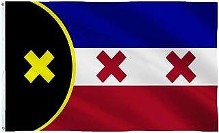 علم للحرية SMP علم الحرية 3x5 قدم مزدوج الخياطة علم البوليستر للديكور الداخلي والخارجي 90x150 سم بألوان متنوعة