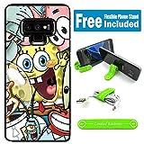 for Galaxy Note 9 Hybrid Rugged Hard Cover Case - Spongebob Friends