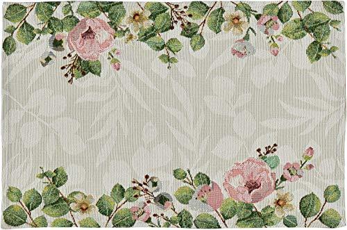 Sander Gobelin Platzset Tischset Motiv Peony 32 x 48 cm floral
