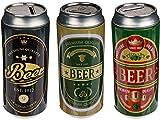 Bada Bing Juego de 3 huchas de cerveza, regalo original
