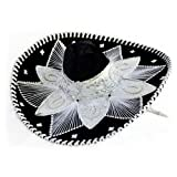 Sombrero Mariachi Blanco y Negro