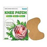 12 Stück / Set Knieschmerzlinderung, Wärmepflaster, selbstklebende Wärmepads für Knie- und...