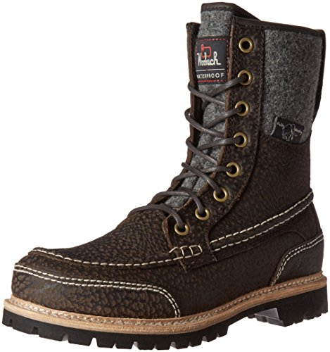 Woolrich Men's Squatch Snow Boot, Java Leather, 9 M US
