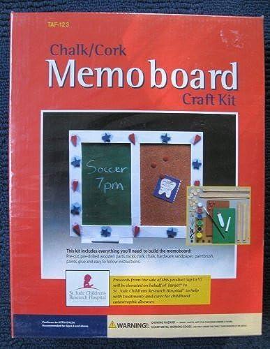 calidad auténtica Chalk Cork Memoboard Craft Kit by by by Memo Board  todos los bienes son especiales