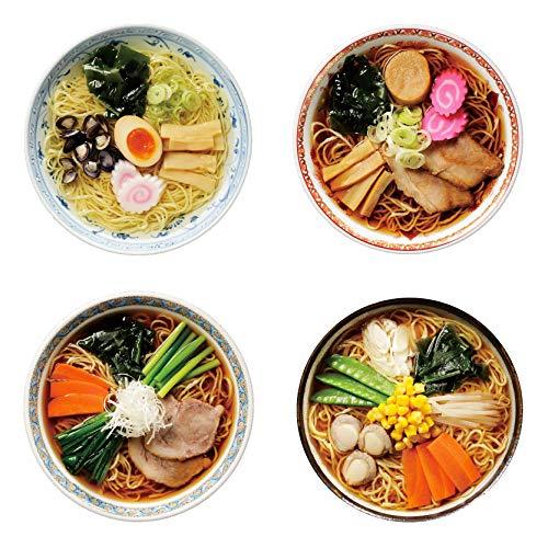 高砂食品 青森ご当地ラーメン4種お試しセット(ほたてみそ版) 半生麺【常温保存可能】
