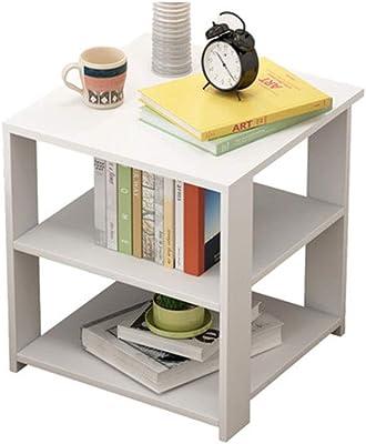 Amazon.com: Tribesigns - Mesa auxiliar de 3 niveles con gran ...