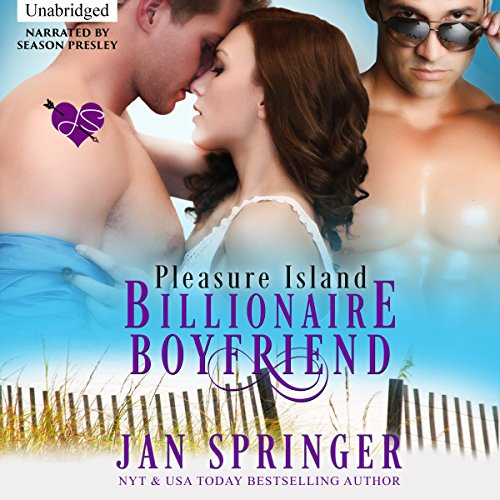 Billionaire Boyfriend: Pleasure Island audiobook cover art