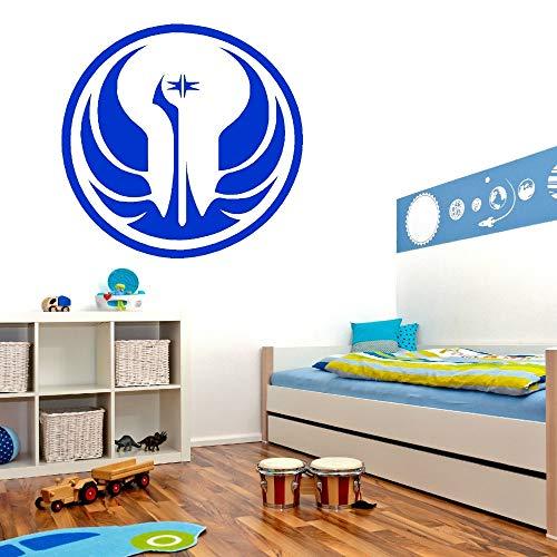 Geiqianjiumai Planet Country Logo Muurtattoo Vinyl Muurkunst Sticker Wooncultuur Applique Sofa achtergrond