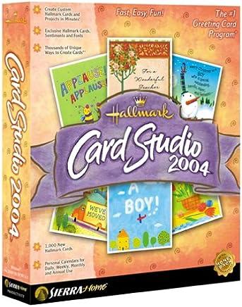 Hallmark Card Studio 2004