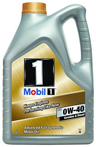 Mobil 1FS 0W-40Olio per motore, da 5 l