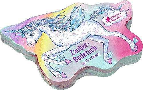 Toalla de Baño Mágica de Algodón Unicornio de la Serie Paraíso Unicornio (Aprox. 75 x 150 cm)
