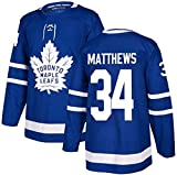 ZRHXN Toronto Maple Leafs #34 Matthews Jersey de Hockey sobre Hielo Hockey sobre S-XXXL,M