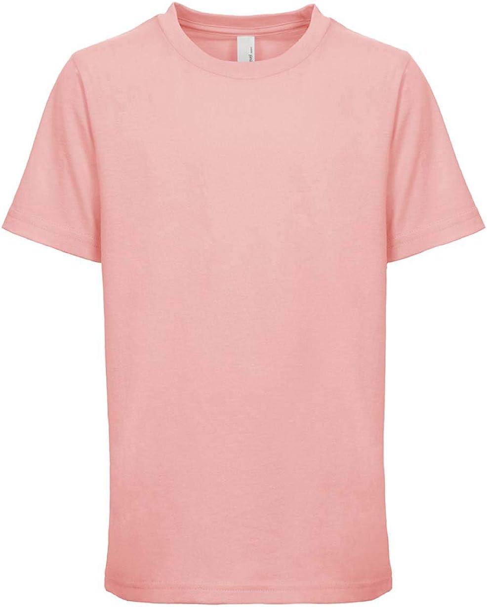 Next Level Kids Crew Neck T-Shirt Light Pink L