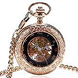ZHAOXIANGXIANG Reloj De Bolsillo Retro,Reloj De Bolsillo De