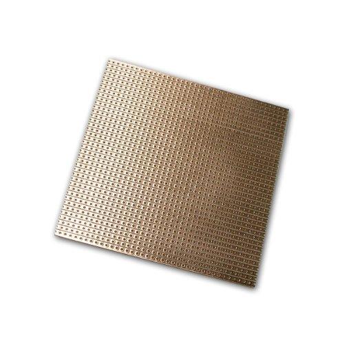 world-trading-net Platine 100x100 mm Streifenrasterplatine Kupfer
